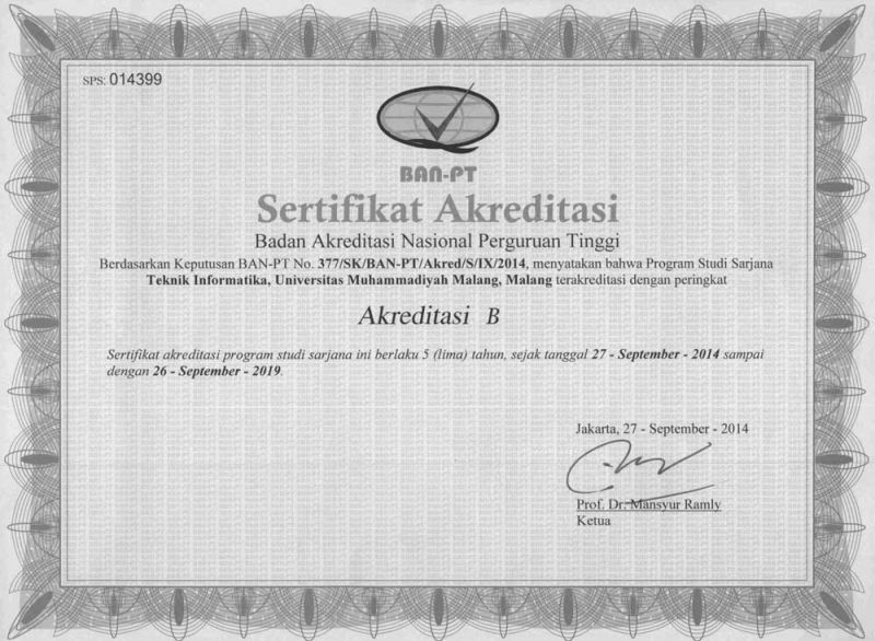 Akreditasi Unsoed Akuntansi Akreditasi Program Studi Biro Administrasi Akademik Daftar